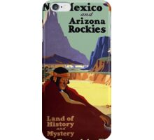 New Mexico and the Arizona Rockies iPhone Case/Skin
