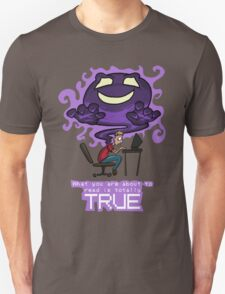 Creepypasta Ghost (with Text) T-Shirt