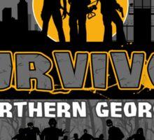 Walking Survivor Sticker