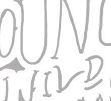 Young, Wild, & Free Sticker
