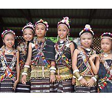 Sabah, Malaysian Borneo – A Cultural Melting Pot Photographic Print