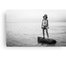 alone all at sea Canvas Print