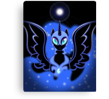 Nightmare Moon Shines Bright Canvas Print