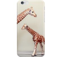 Giraffe Love iPhone Case/Skin