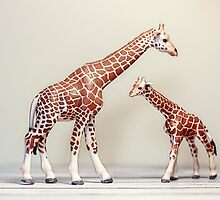 Giraffe Love by Debbra Obertanec