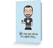 John Finnemore (postcard) Greeting Card