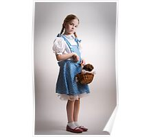 Girl Dressed Up as Dorothy Poster