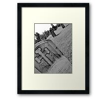 Cold Touch Framed Print