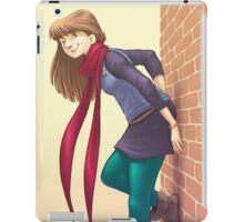 Geeky Character Design iPad Case/Skin