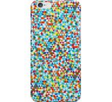 Glitch Triangles iPhone Case/Skin
