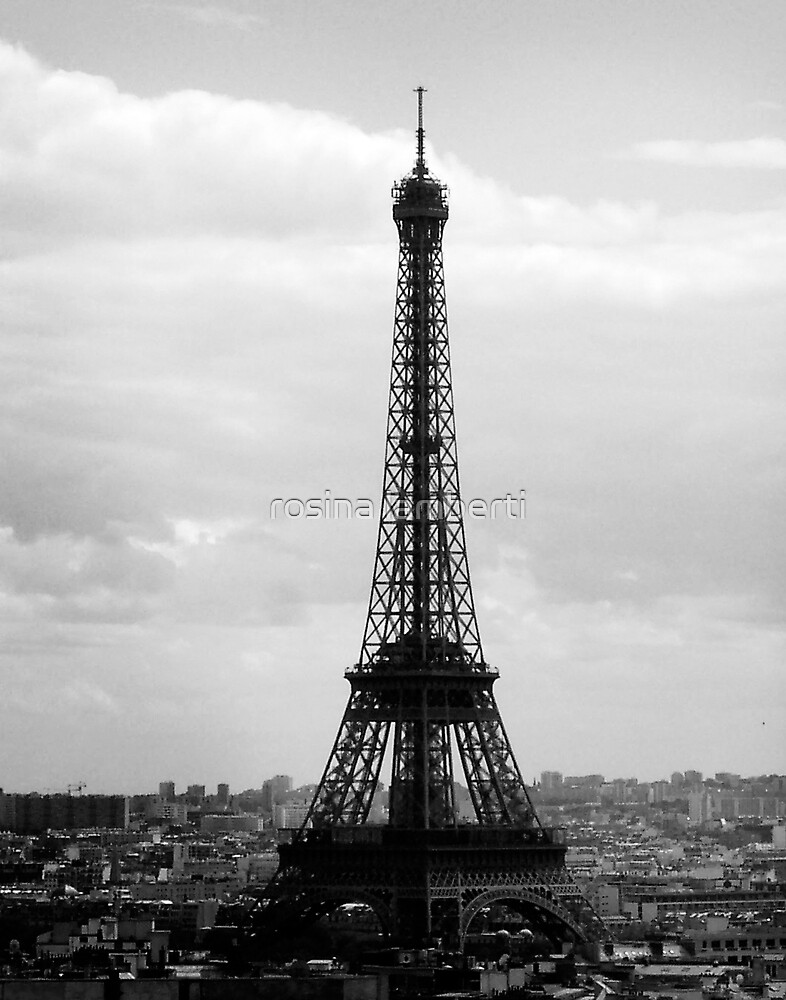 Eiffel Tower,Paris by Rosina  Lamberti