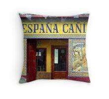 España Cañi Throw Pillow