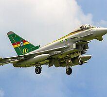 3 Sqn Centenary Typhoon ZJ936/QO-C by Colin Smedley
