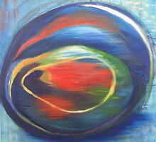 trumpetfish eye by Teagan Watts