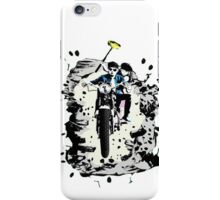 Emmett and Bay street art - Switched at Birth iPhone Case/Skin