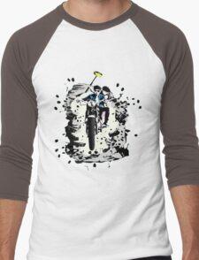 Emmett and Bay street art - Switched at Birth Men's Baseball ¾ T-Shirt