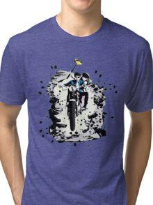 Emmett and Bay street art - Switched at Birth Tri-blend T-Shirt