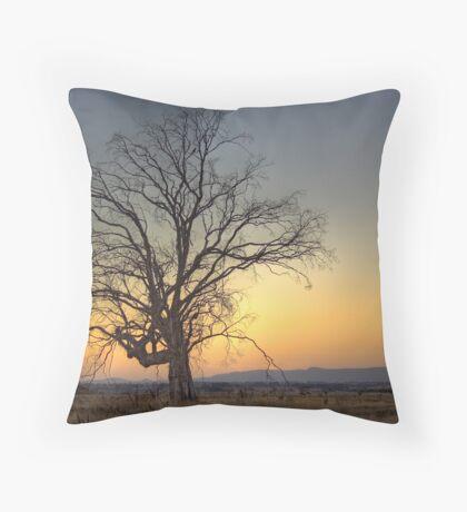 Sunrise Over Macedon Throw Pillow