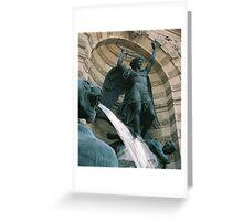 Fontaine Saint-Michel, Paris Greeting Card