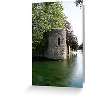 Turret at the Bishops Palace, Wells Greeting Card