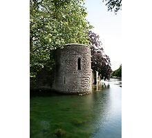 Turret at the Bishops Palace, Wells Photographic Print