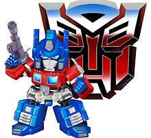 SD Optimus Prime by WhiskyOmega