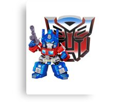 SD Optimus Prime Metal Print