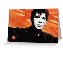 Peter Gabriel :: Red Rain Greeting Card