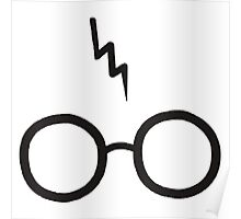 Harry Potter - Glasses and scar Poster