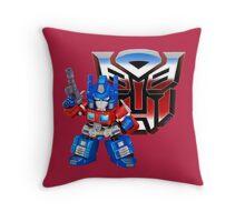 SD Optimus Prime Throw Pillow