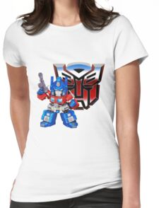 SD Optimus Prime Womens Fitted T-Shirt