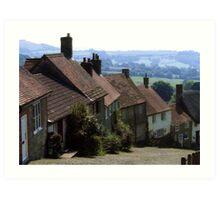 Gold Hill, Shaftsbury Dorset Art Print