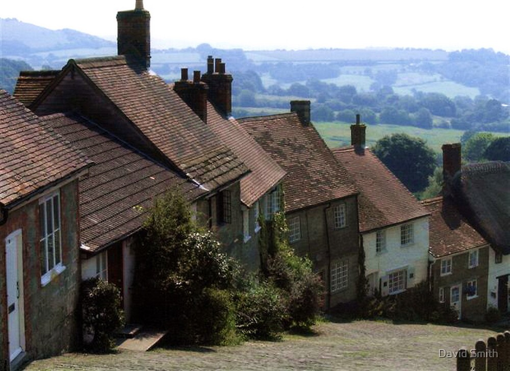 Gold Hill, Shaftsbury Dorset by David Smith