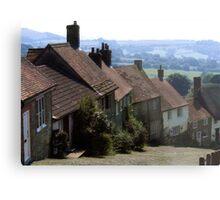 Gold Hill, Shaftsbury Dorset Metal Print