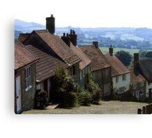Gold Hill, Shaftsbury Dorset Canvas Print