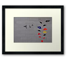 Alexander Calder, Cascading Flowers Framed Print