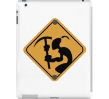 Mudokon Mining Sign - Oddworld iPad Case/Skin