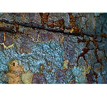 Shimmering Mountain Photographic Print