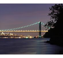 George Washington Bridge - New York Photographic Print