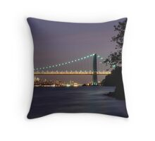 George Washington Bridge - New York Throw Pillow