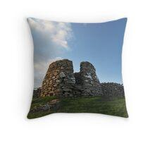Drying Kiln, Lunna Ness, Shetland Throw Pillow