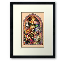 Winds of Flame and Sea - [Wind Waker] Framed Print