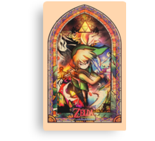 Winds of Flame and Sea - [Wind Waker] Canvas Print