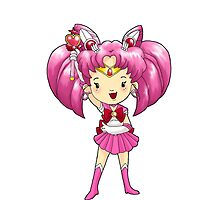 Sailor Scout Sailor CHIBI MOON by Bantambb