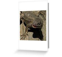 Sunbathing Greeting Card