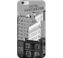 Hotel Huntington, San Francisco iPhone Case/Skin
