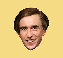 I'm Alan Partridge – Scatter Love Cushion by PonchTheOwl