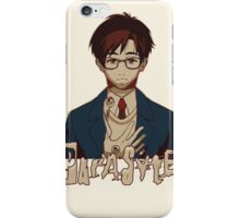 Parasyte 寄生獣 kiseijuu sei no kakuritsu iPhone Case/Skin