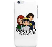 Dr. Horrible's Sing-Along Blog iPhone Case/Skin