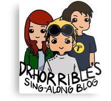 Dr. Horrible's Sing-Along Blog Metal Print
